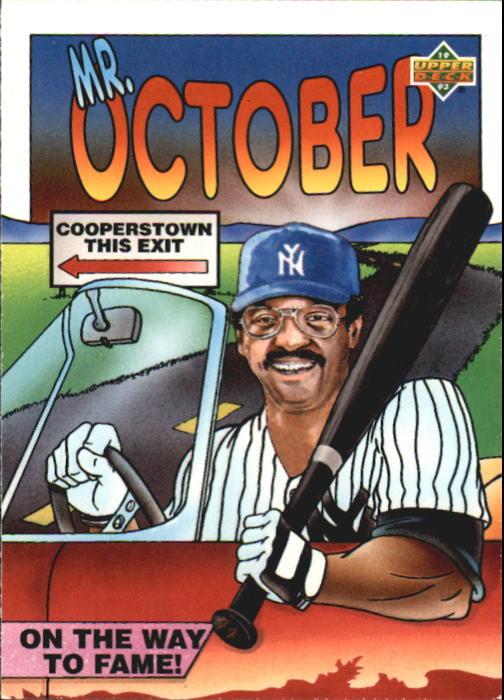 1993 Fun Pack #28 Reggie Jackson HERO