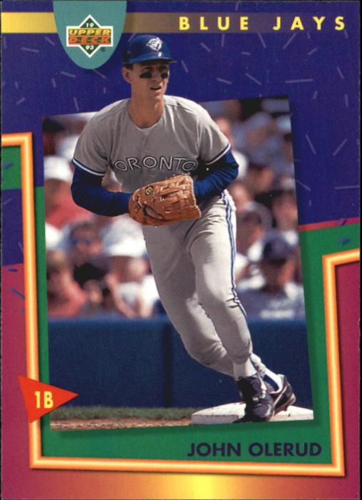 1993 Fun Pack #60 John Olerud