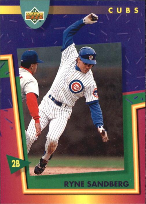 1993 Fun Pack #84 Ryne Sandberg