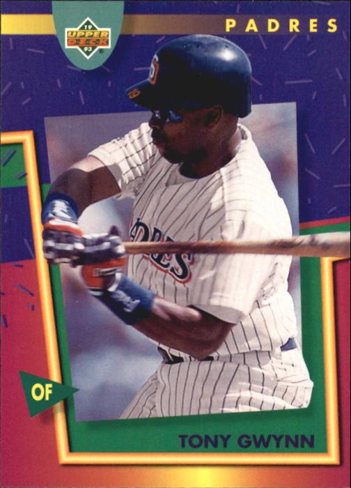 1993 Fun Pack #138 Tony Gwynn