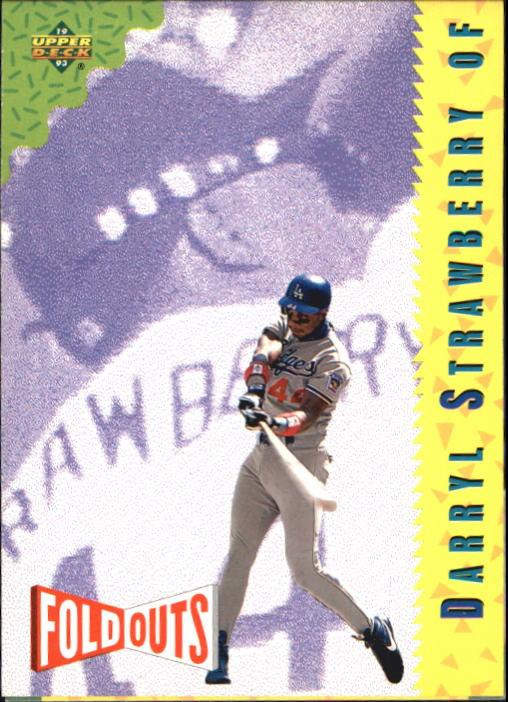 1993 Fun Pack #220 Darryl Strawberry FOLD