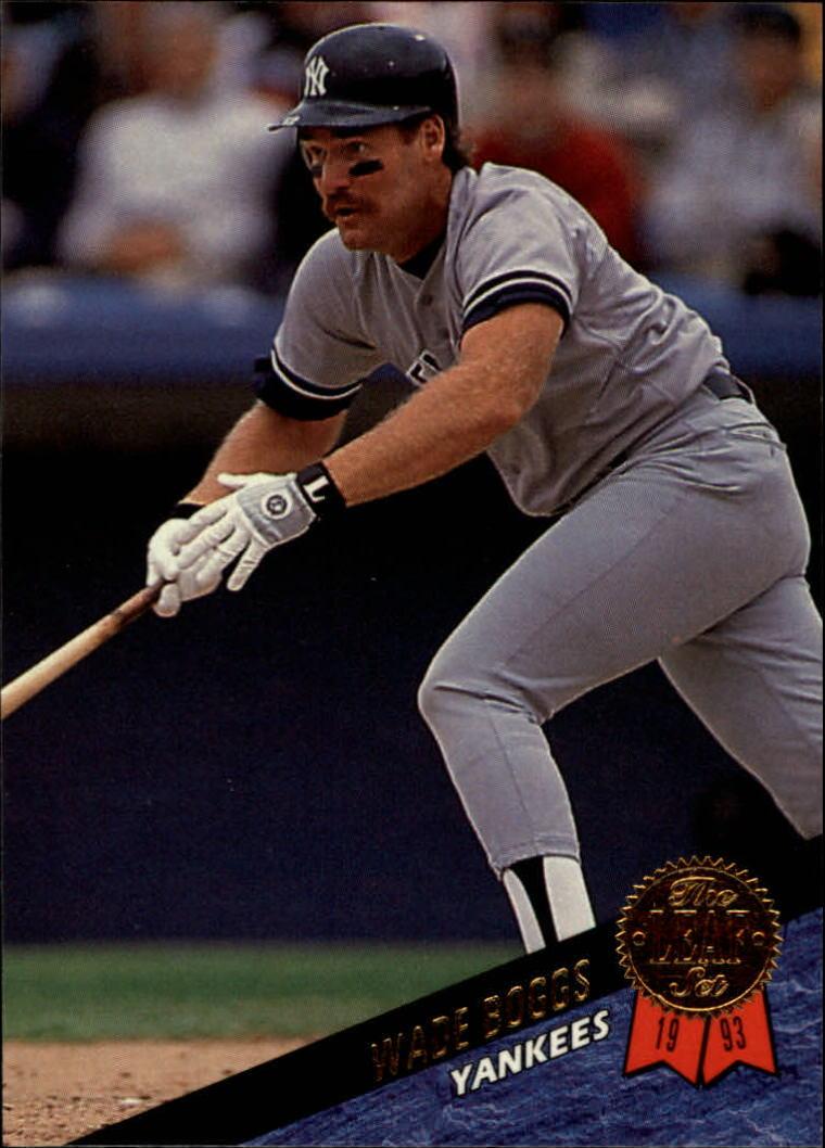 1993 Leaf #285 Wade Boggs