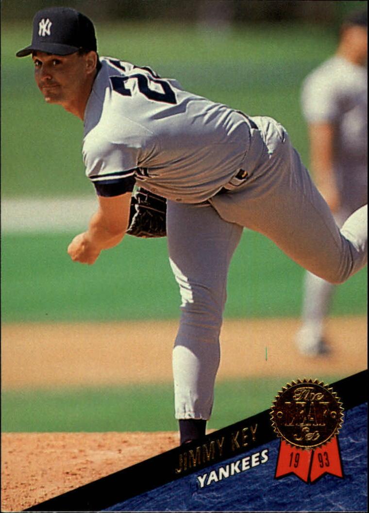 1993 Leaf #317 Jimmy Key