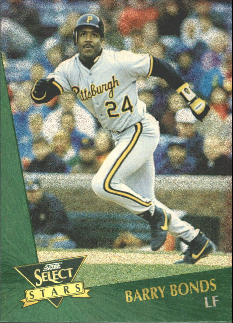 1993 Select Chase Stars #7 Barry Bonds