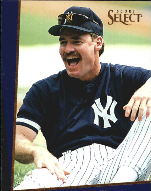 1993 Select Rookie/Traded #17T Wade Boggs