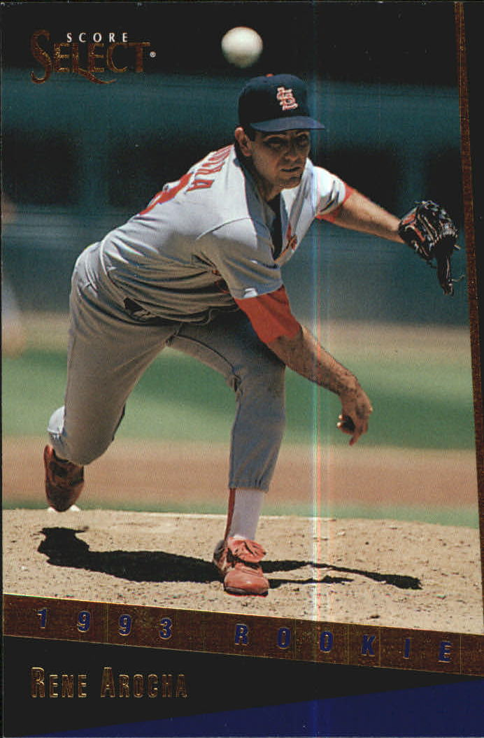 1993 Select Rookie/Traded #62T Rene Arocha RC