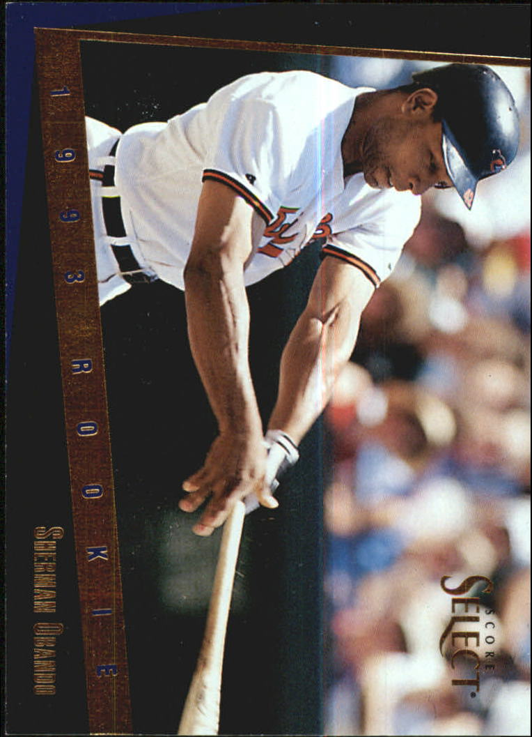 1993 Select Rookie/Traded #70T Sherman Obando RC