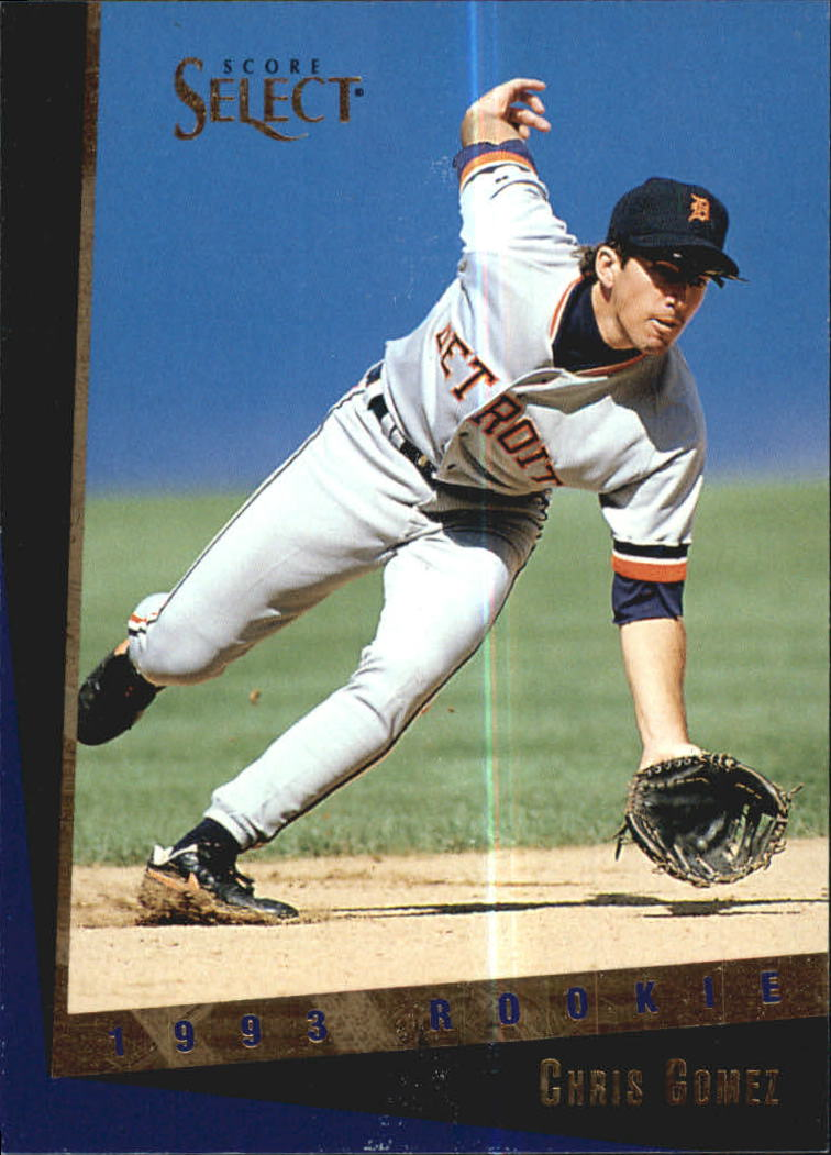 1993 Select Rookie/Traded #80T Chris Gomez RC
