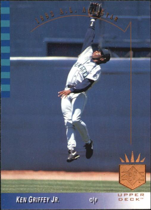 1993 SP #4 Ken Griffey Jr. AS