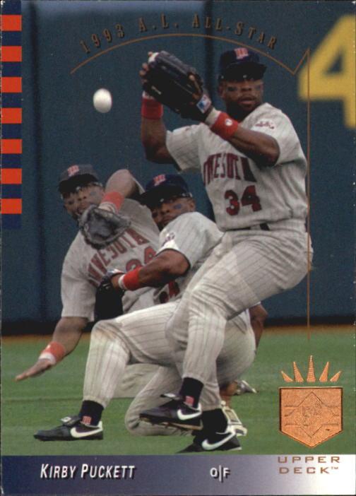 1993 SP #7 Kirby Puckett AS