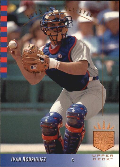 1993 SP #9 Ivan Rodriguez AS