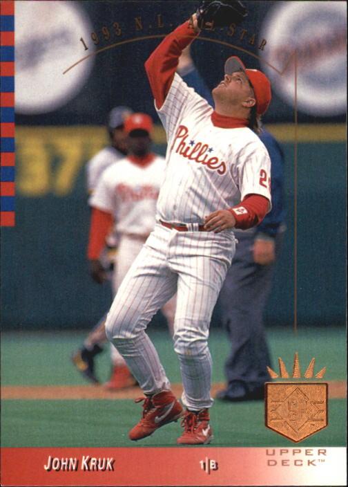 1993 SP #14 John Kruk AS