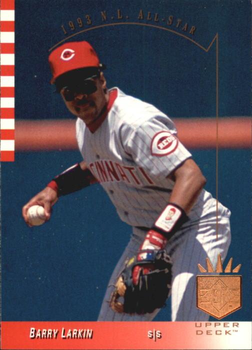 1993 SP #15 Barry Larkin AS