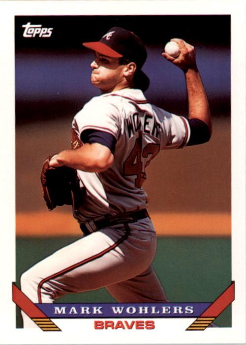 1993 Topps #8 Mark Wohlers