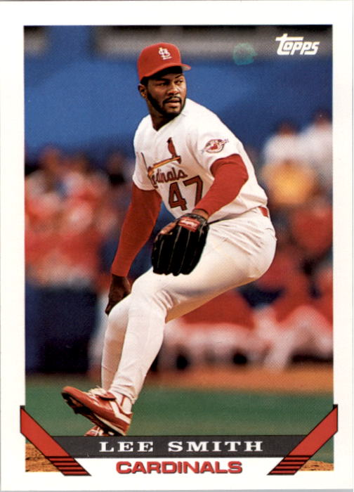 1993 Topps #12 Lee Smith