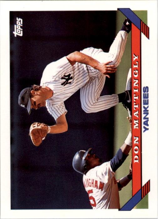 1993 Topps #32 Don Mattingly