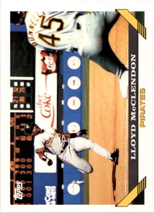 1993 Topps #81 Lloyd McClendon
