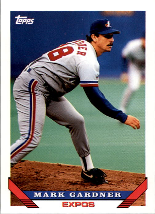 1993 Topps #314 Mark Gardner