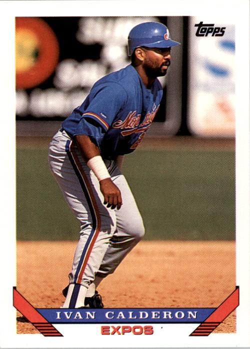 1993 Topps #540 Ivan Calderon