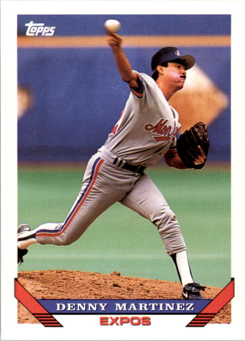 1993 Topps #610 Dennis Martinez