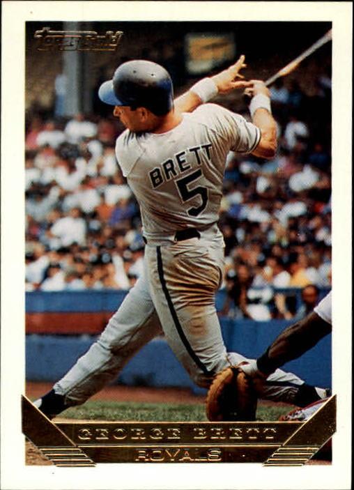 1993 Topps Gold #397 George Brett