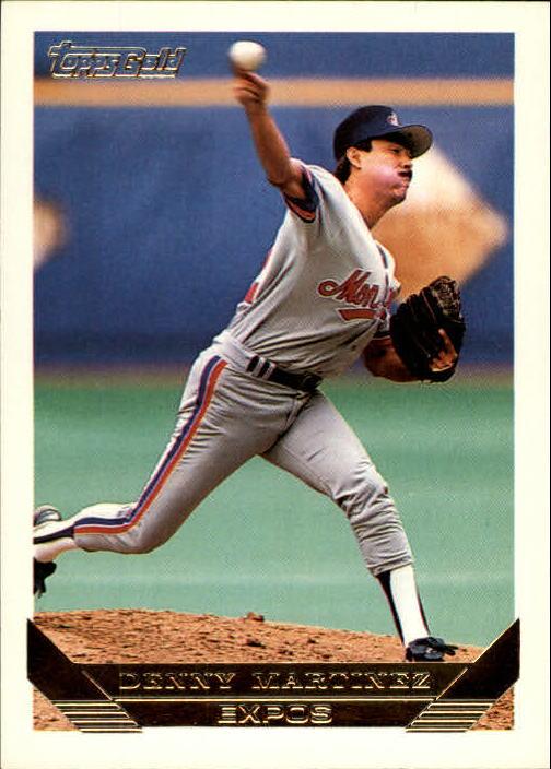 1993 Topps Gold #610 Denny Martinez