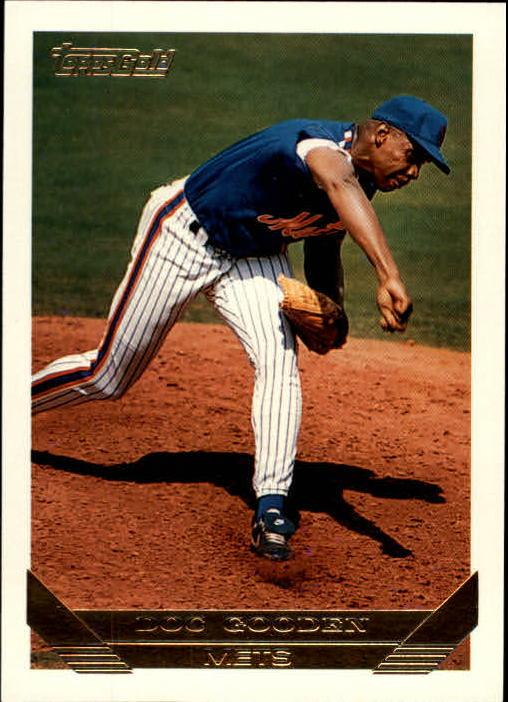 1993 Topps Gold #640 Dwight Gooden