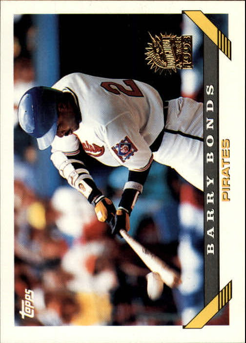 1993 Topps Inaugural Marlins #2 Barry Bonds