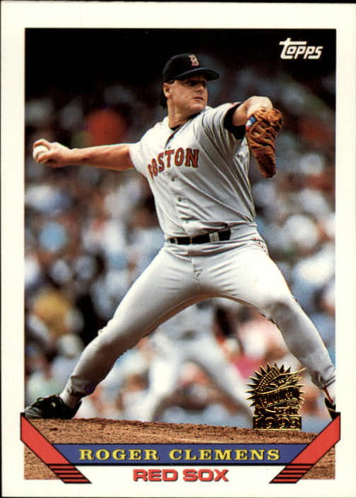 1993 Topps Inaugural Marlins #4 Roger Clemens
