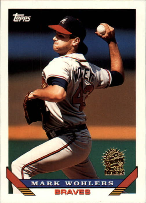 1993 Topps Inaugural Marlins #8 Mark Wohlers
