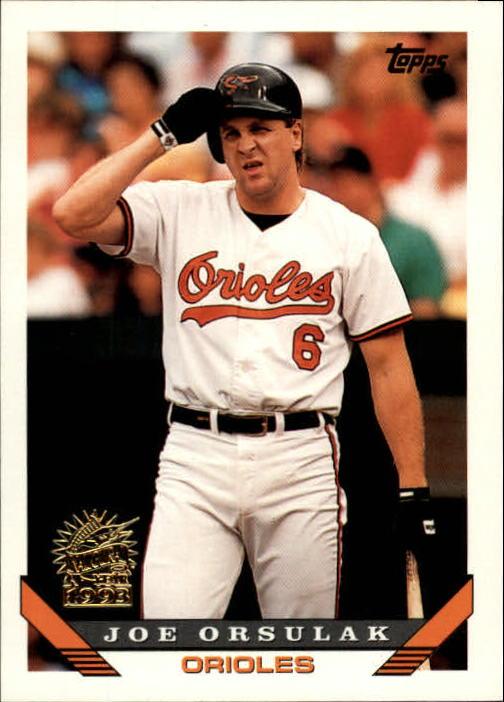 1993 Topps Inaugural Marlins #28 Joe Orsulak