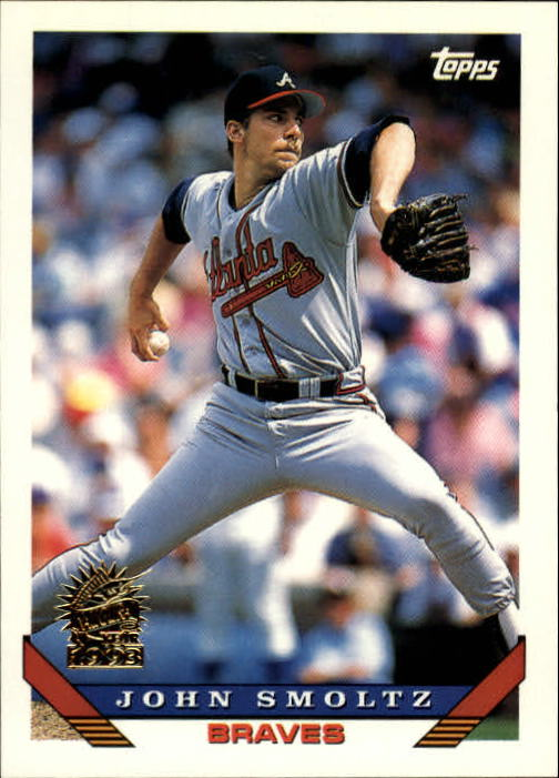 1993 Topps Inaugural Marlins #35 John Smoltz