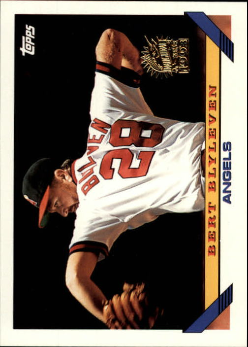 1993 Topps Inaugural Marlins #48 Bert Blyleven