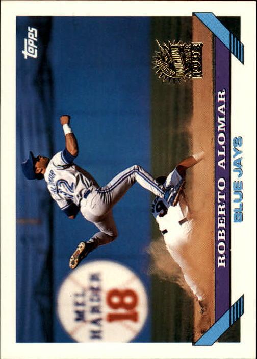 1993 Topps Inaugural Marlins #50 Roberto Alomar