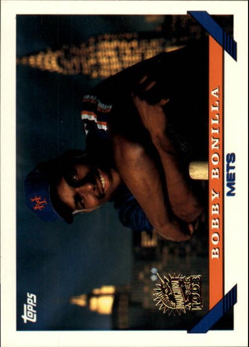 1993 Topps Inaugural Marlins #52 Bobby Bonilla