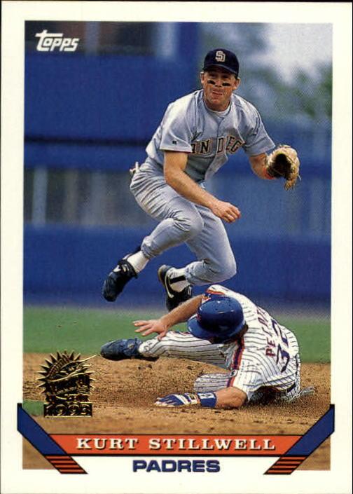 1993 Topps Inaugural Marlins #84 Kurt Stillwell
