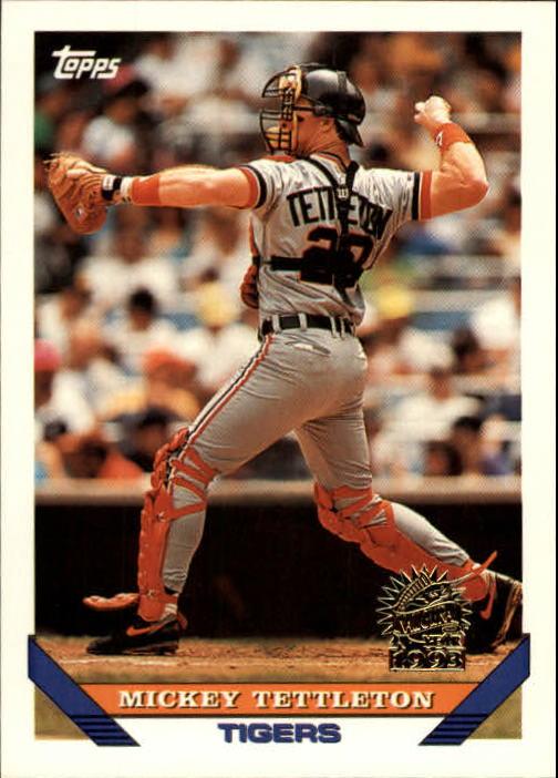 1993 Topps Inaugural Marlins #135 Mickey Tettleton