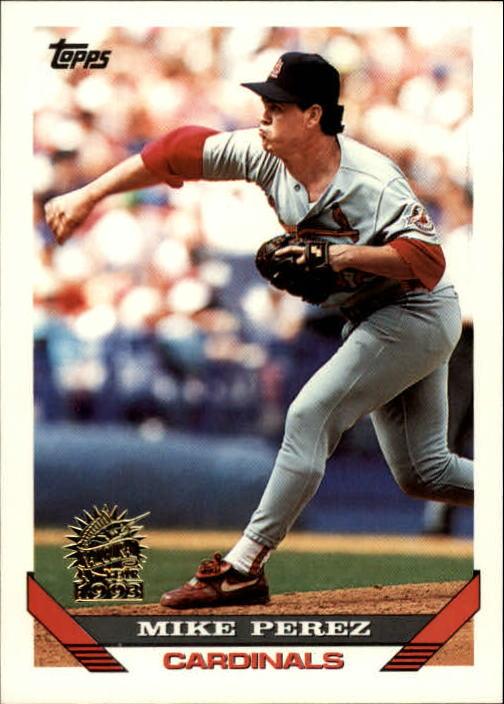 1993 Topps Inaugural Marlins #229 Mike Perez