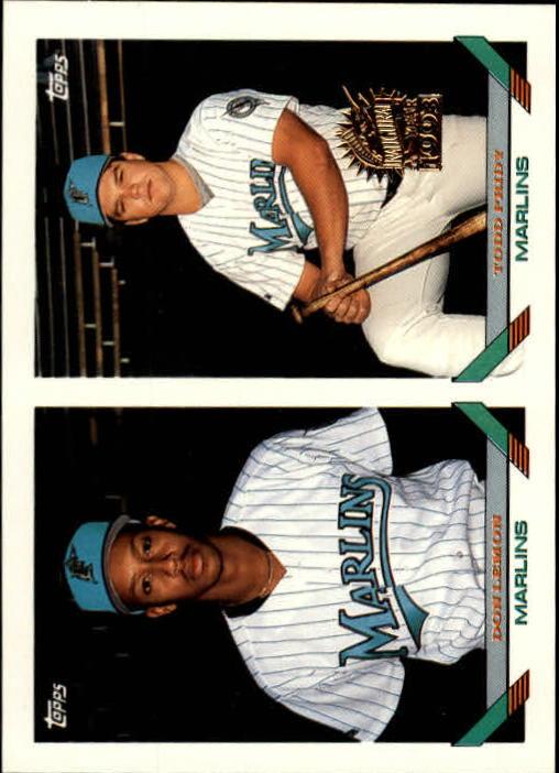 1993 Topps Inaugural Marlins #441 Don Lemon/Todd Pridy