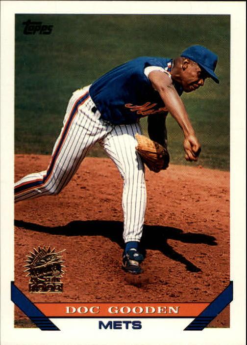 1993 Topps Inaugural Marlins #640 Dwight Gooden