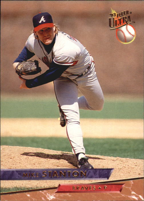 1993 Ultra #13 Mike Stanton