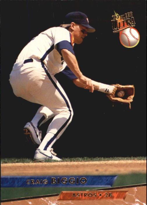 1993 Ultra #37 Craig Biggio