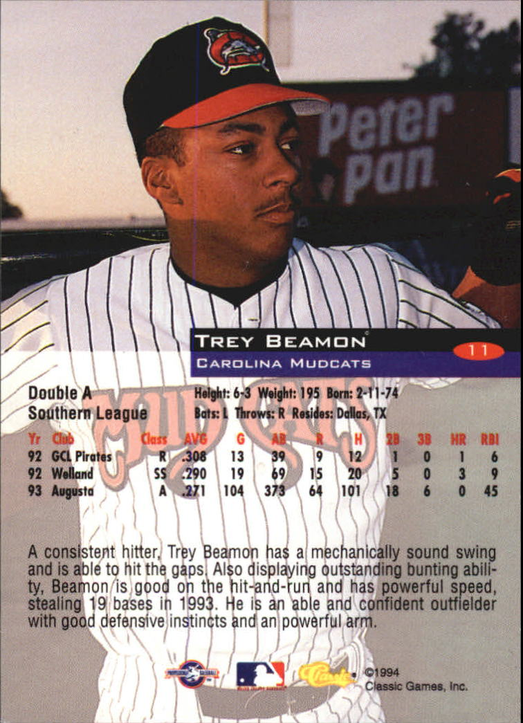 1994-Classic-Baseball-1-200-Your-Choice-GOTBASEBALLCARDS thumbnail 17