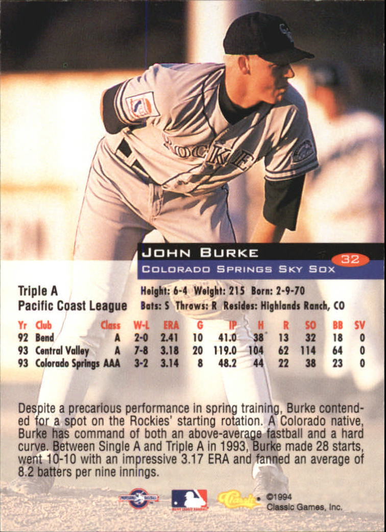 1994-Classic-Baseball-1-200-Your-Choice-GOTBASEBALLCARDS thumbnail 49