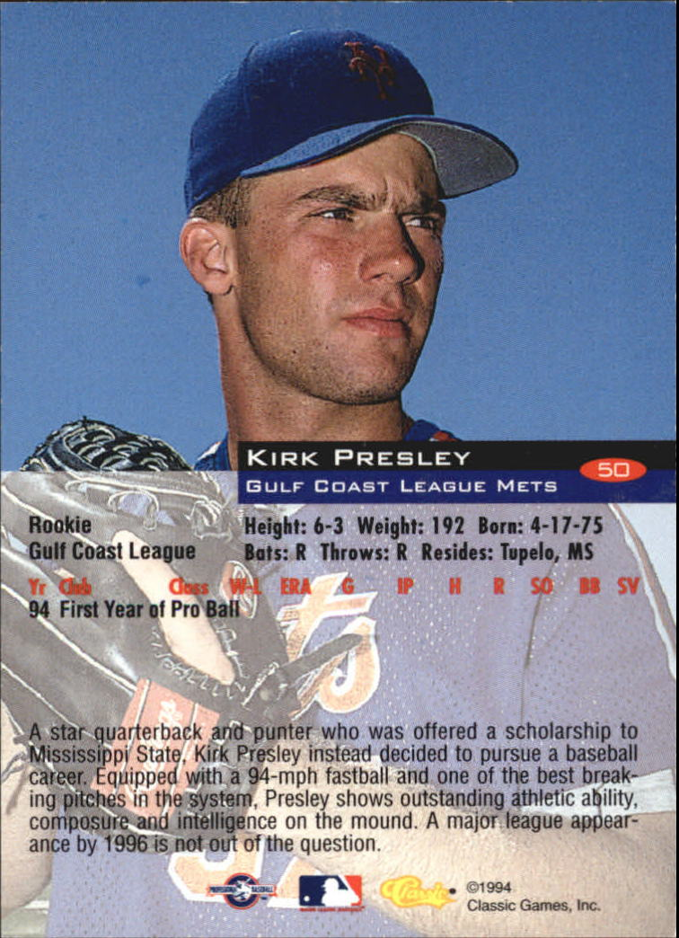 1994-Classic-Baseball-1-200-Your-Choice-GOTBASEBALLCARDS thumbnail 81