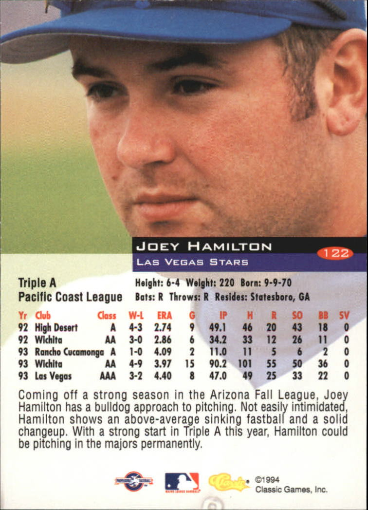 1994-Classic-Baseball-1-200-Your-Choice-GOTBASEBALLCARDS thumbnail 199