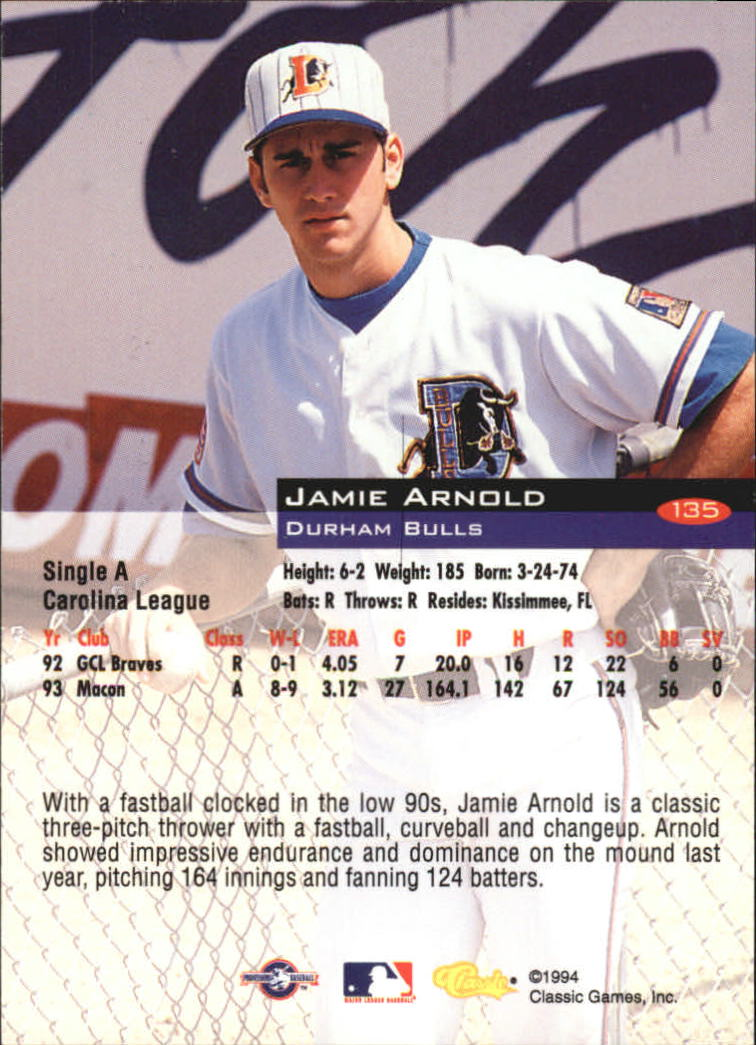 1994-Classic-Baseball-1-200-Your-Choice-GOTBASEBALLCARDS thumbnail 221