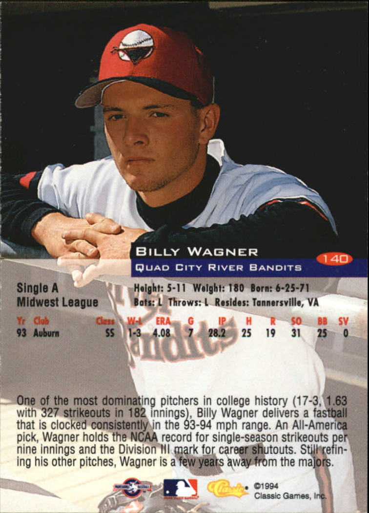 1994-Classic-Baseball-1-200-Your-Choice-GOTBASEBALLCARDS thumbnail 227