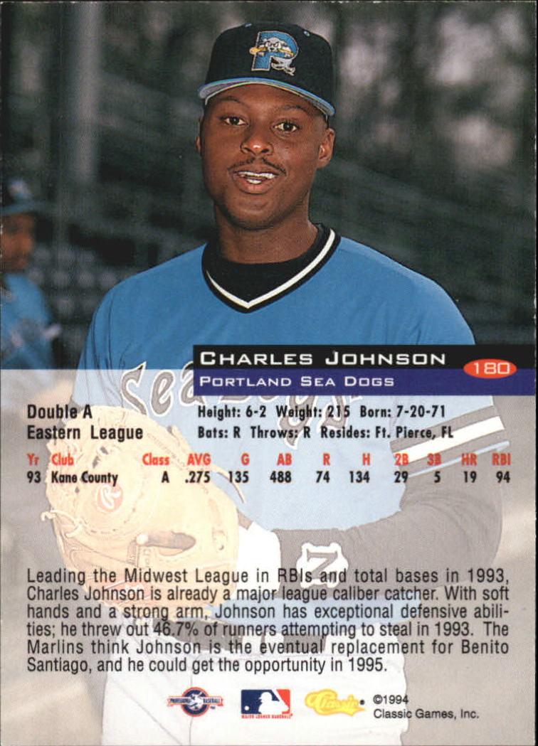 1994-Classic-Baseball-1-200-Your-Choice-GOTBASEBALLCARDS thumbnail 295