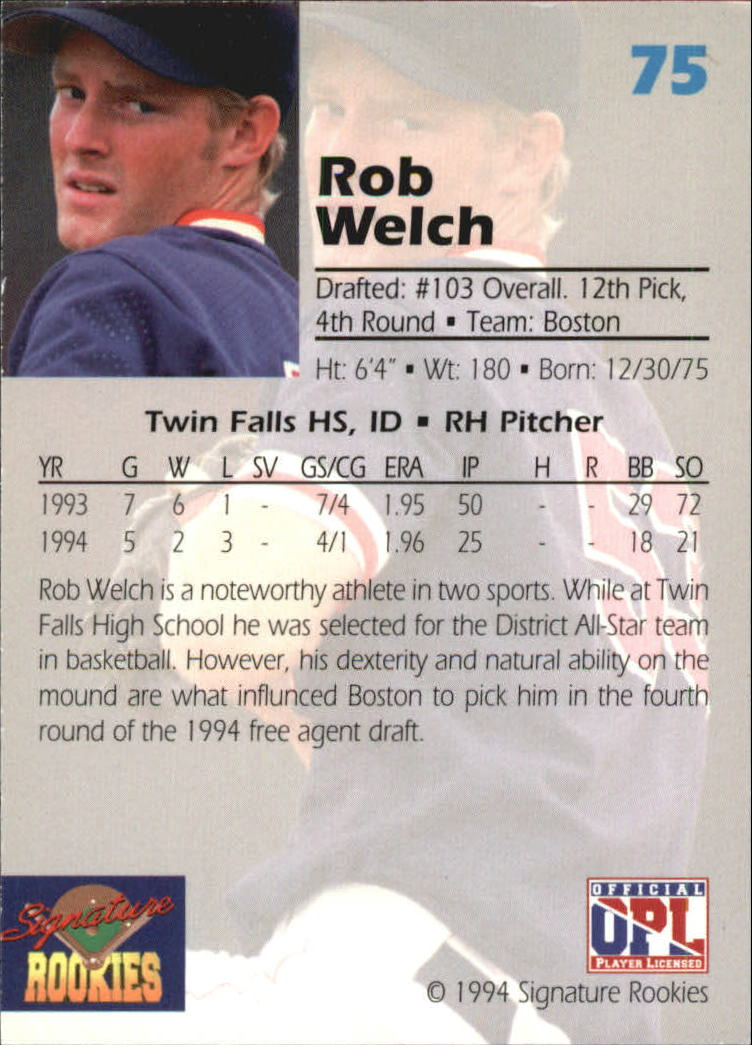 1994-Signature-Rookies-Draft-Picks-Signatures-You-Choose-GOTBASEBALLCARDS thumbnail 53